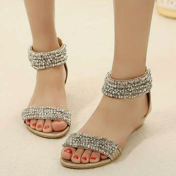 Flat Sandals Designs #1..
