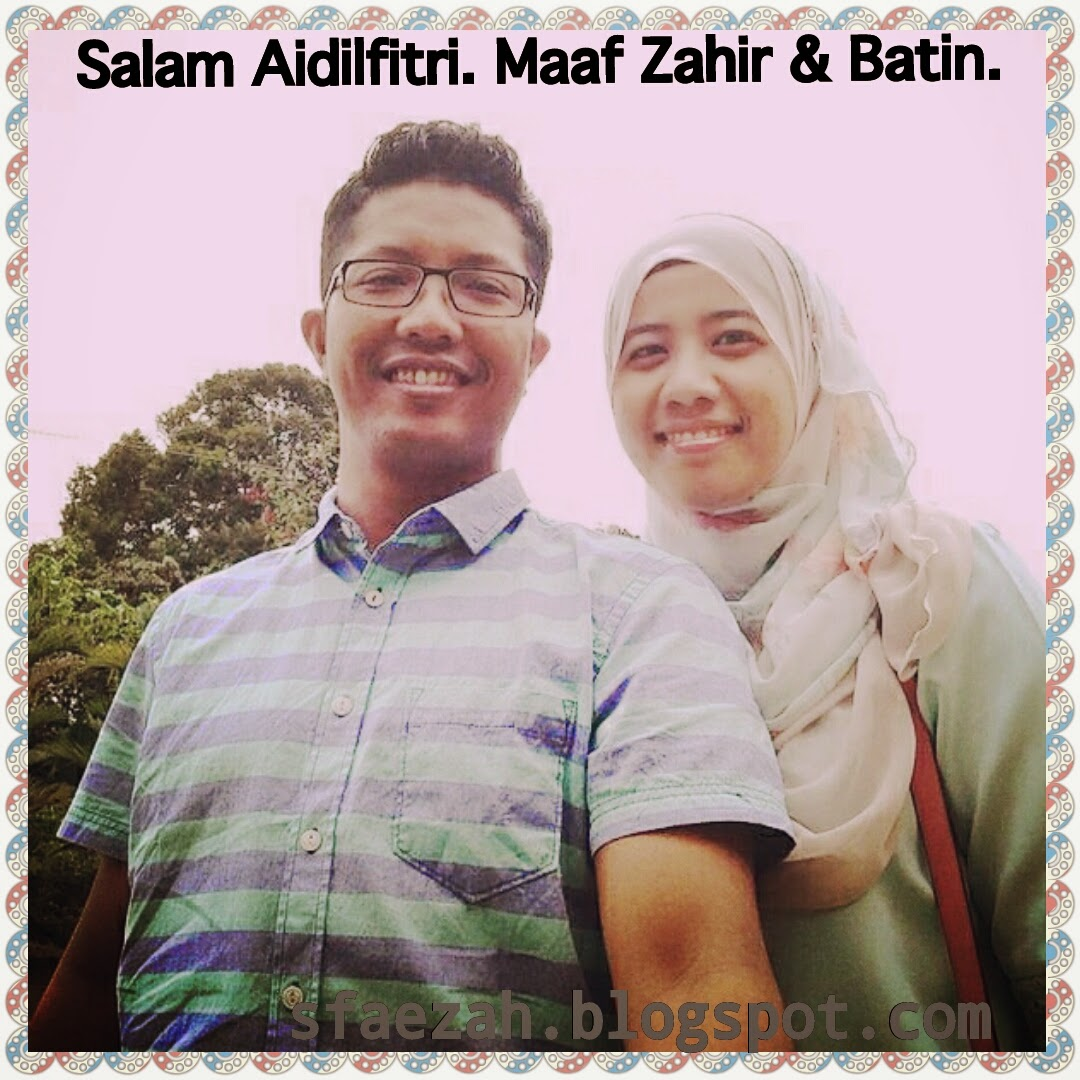 Salam Aidilfitri sahabat Blogger