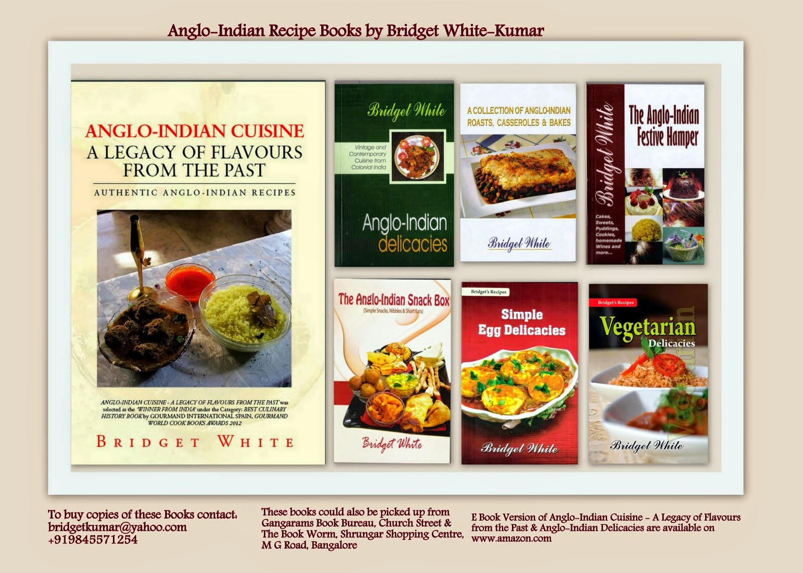 MY ANGLO-INDIAN RECIPE BOOKS