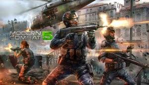 Modern Combat 5 Blackout Apk Full + Data