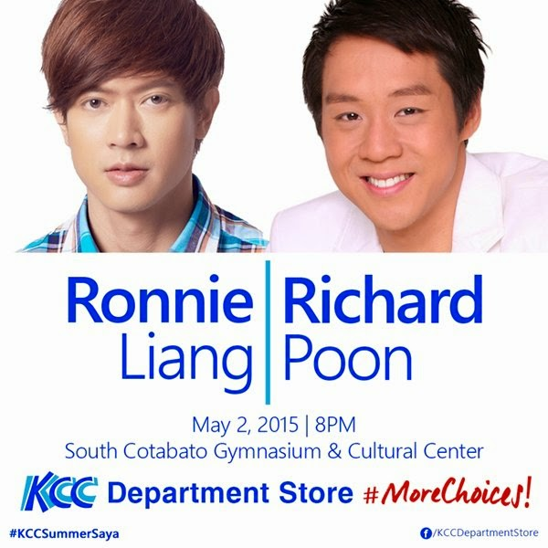 Catch Ronnie Liang & Richard Poon at the South Cotabato Gym on May 2