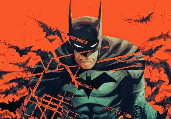 Francis Manapul's 'Batman' on Official New York Comic Con Poster - NYCC 2014