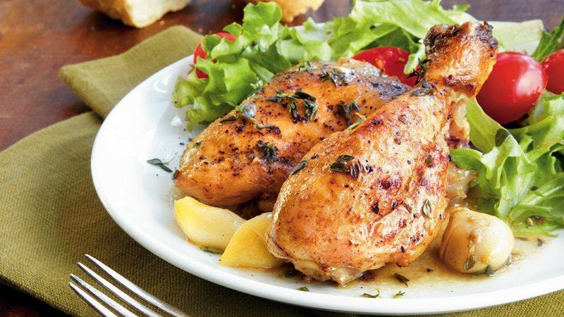 Gina's Italian Kitchen: Slow Cooker Garlic Chicken