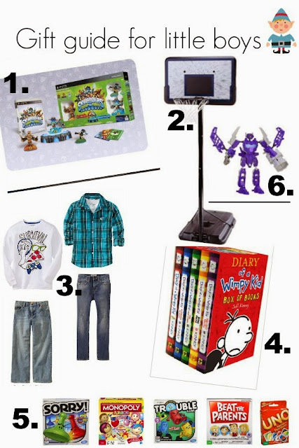 My three bittles: Gift ideas for young boys.