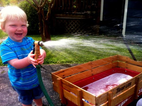 toddler car wash, heart shaped sweat