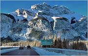Banff felé (cascade mountain banff ab)