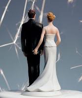 Bonecos de noiva atrevidos