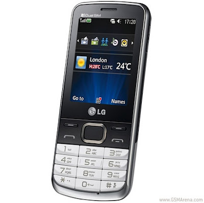 new LG S367 Dual SIM Mobile Phone
