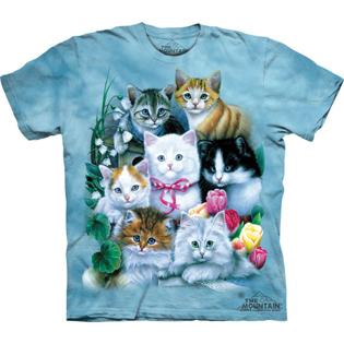 Tie Dye Kittens Tee
