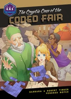 The Cryptic Case of the Coded Fair  cover
