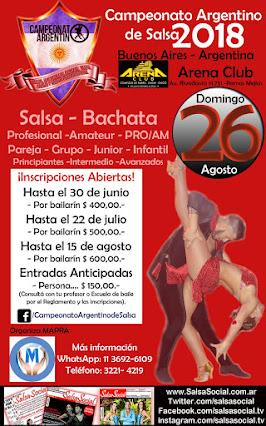 Campeonato Argentino de Salsa 2018