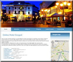 Hotels, Accomodation and Information About Szeged.