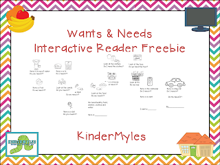http://www.teacherspayteachers.com/Product/Wants-and-Needs-Reader-Freebie-1041792