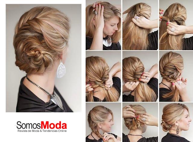 Peinados de moda fáciles de hacer