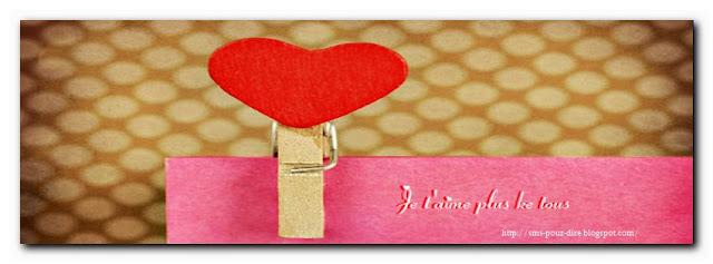 Modèle message d'amour