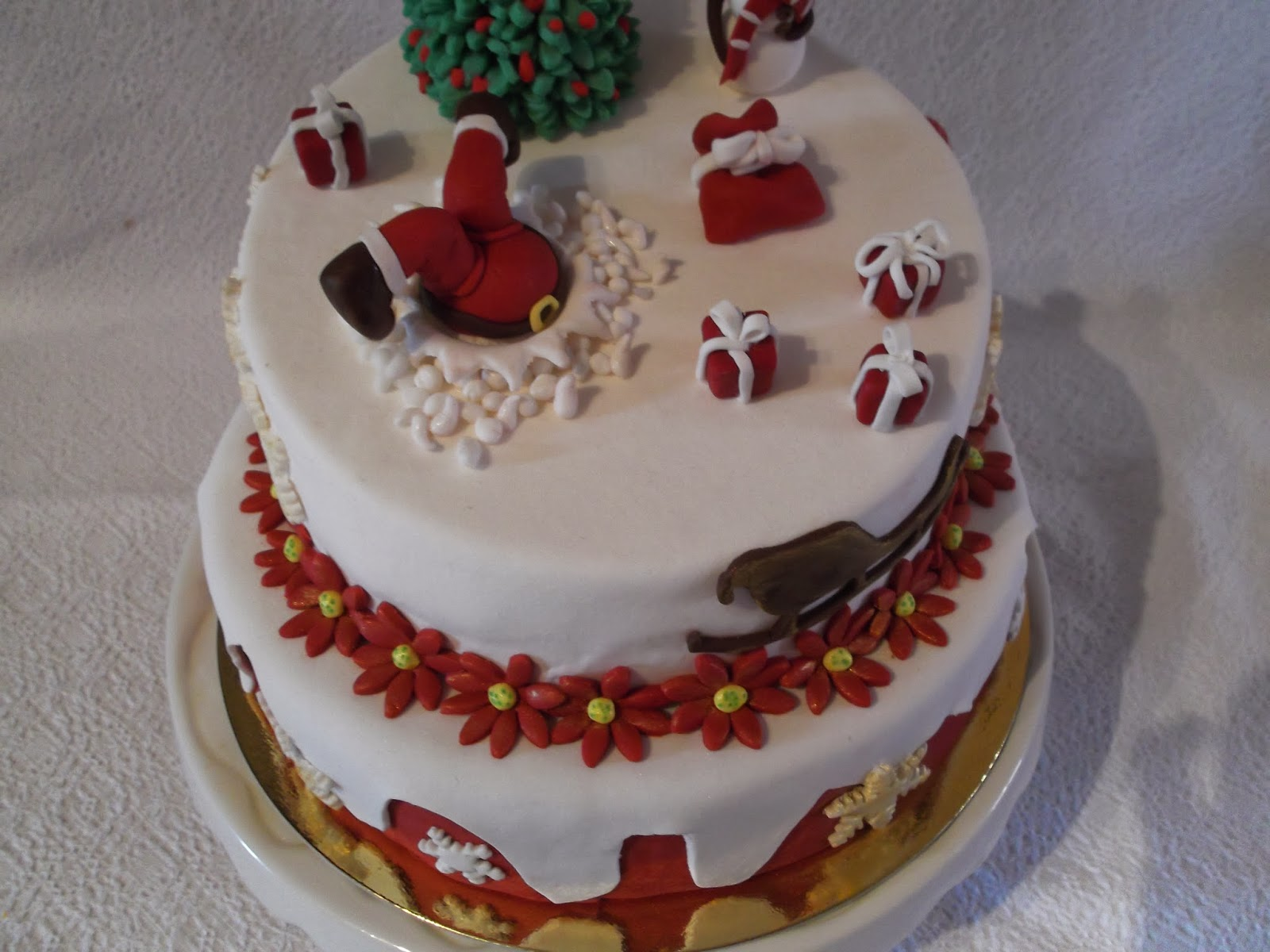 Dolcinerie torte natalizie - Torte natalizie decorate ...