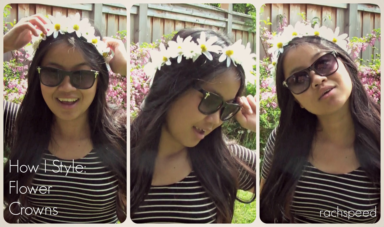 How i style flower crowns rach speed if you are an avid rachspeed reader you would know that i love flower crowns and have been sporting them in blog posts and instagram photos all year izmirmasajfo