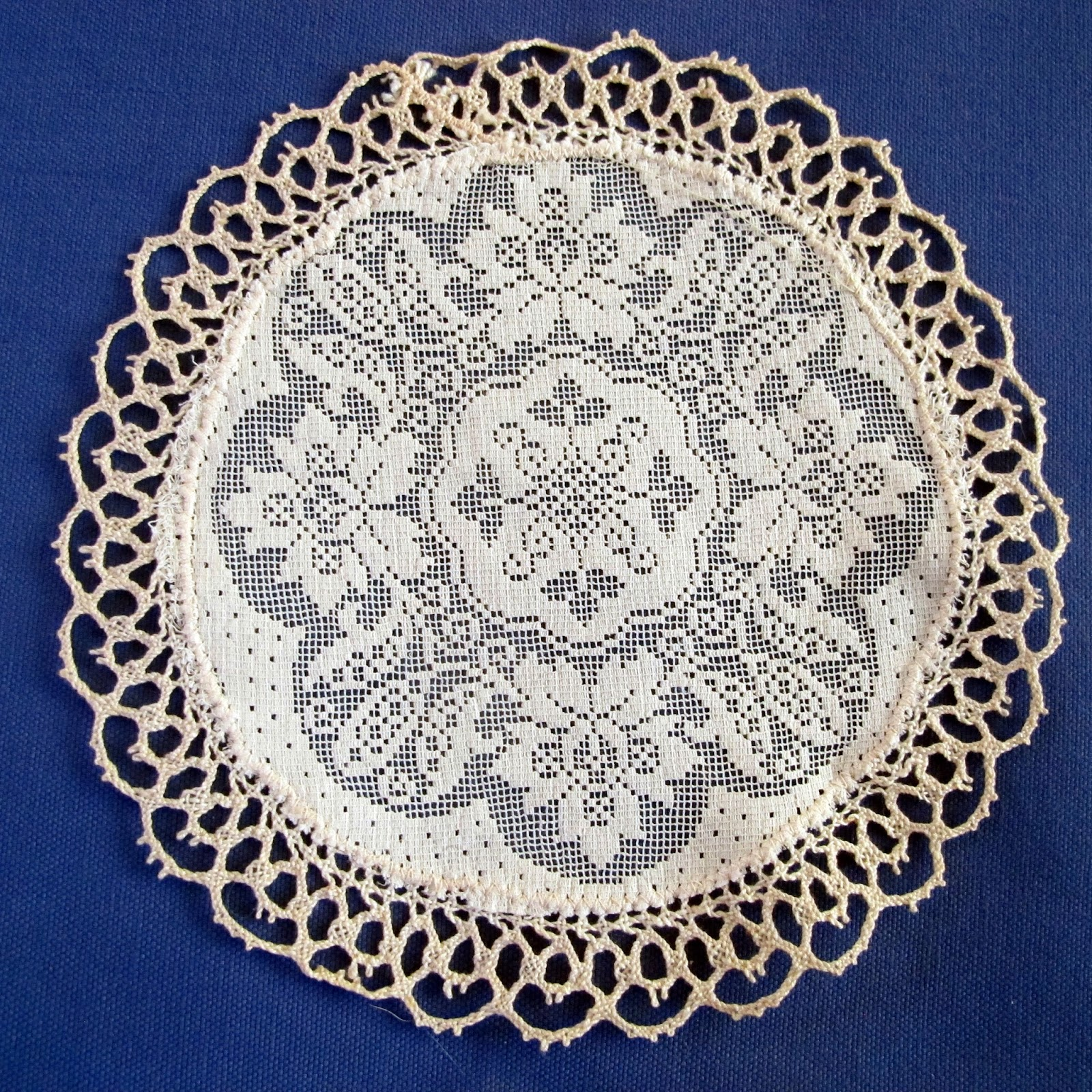 Shoot And Eat Vintage Doilies