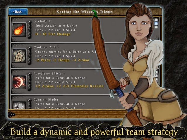 Heroes of Steel RPG Elite android screensot1