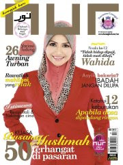 Me as cover Nur magazine for Feb 2012