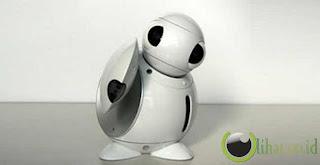 Robot yang berfungsi sebagai Universal Remote Control