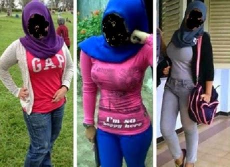 Jilboobs Wanita Berhijab Kongsi Body Ketat Yang Buat Lelaki Naik Geram 7 Gambar