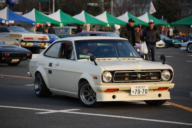 Nissan Sunny B110 stary japoński samochód oldschool klasyk sportowy coupe