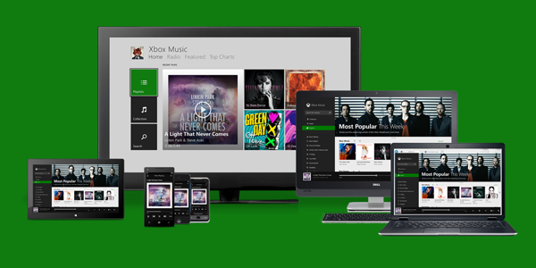 Xbox Music for Android and iOS can now stream music from OneDrive