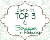 in Top 3 of Scrapper in Romania Challenge #20 (December 4, 2011)
