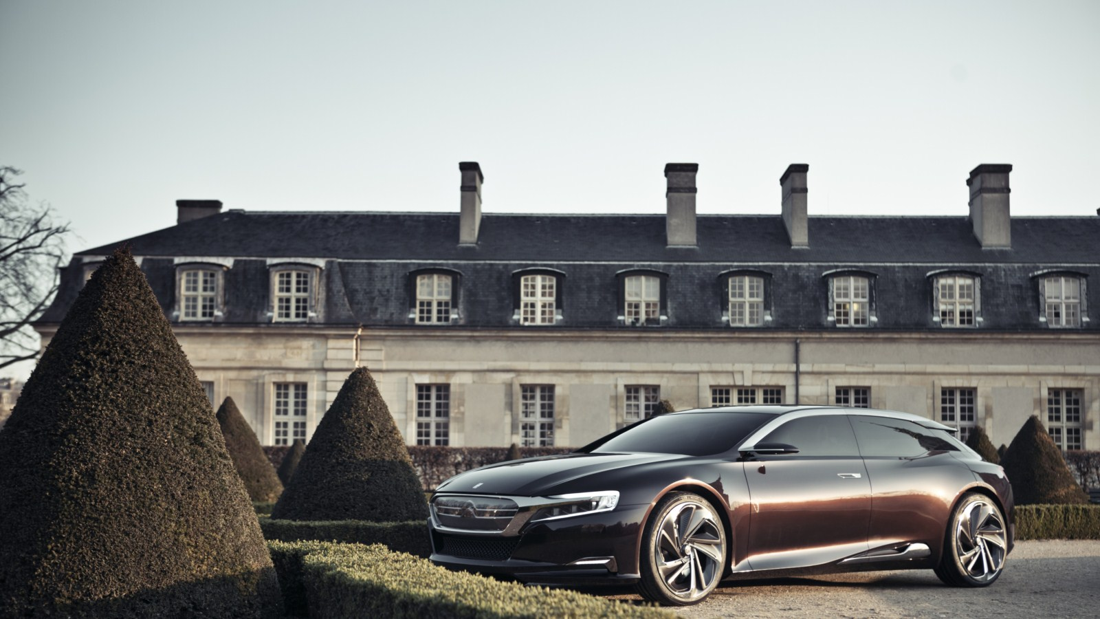 New DS 9 Citroen Numero 9 Concept 2012 First Live Look HD Photos