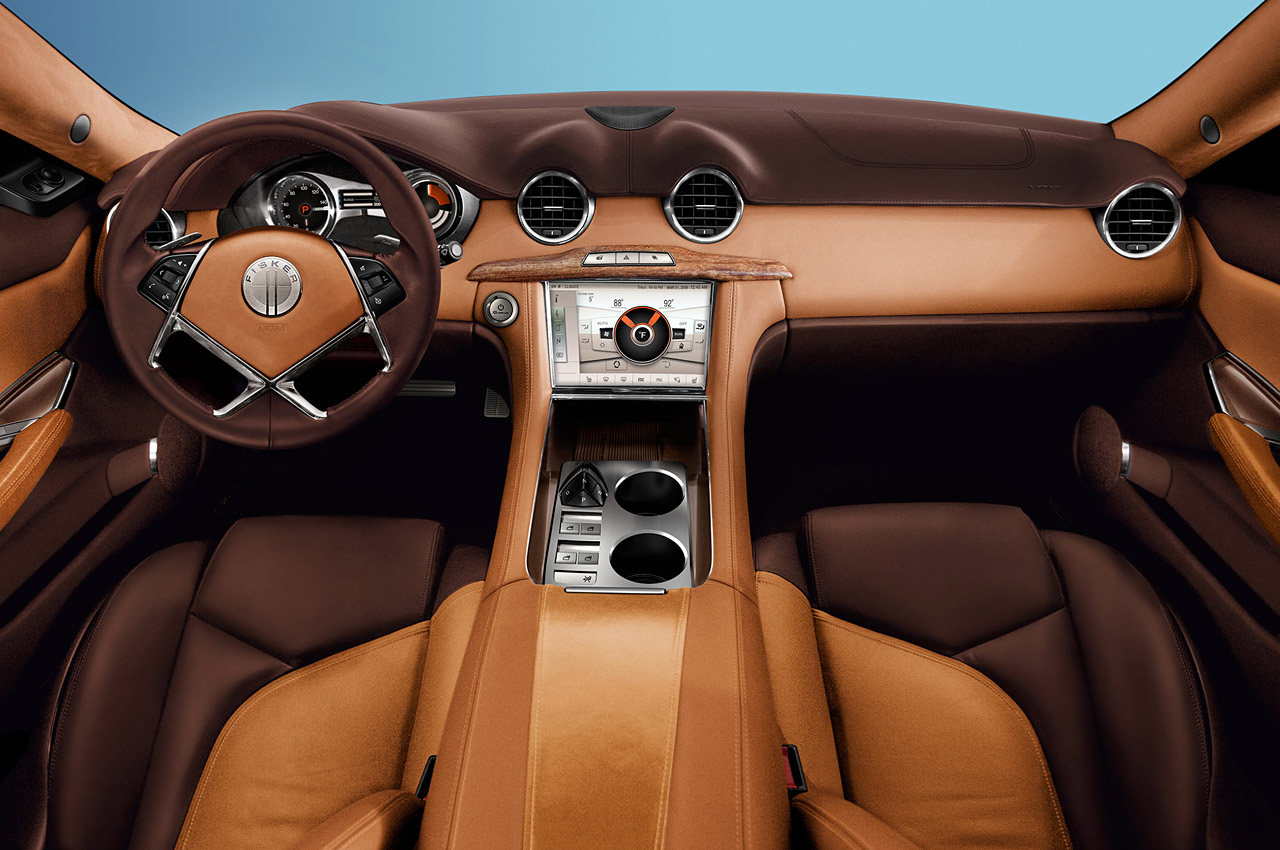 2012 FISKER KARMA INTERIOR DESIGN DETAIL