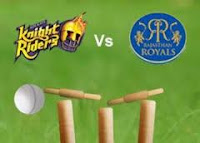 Indian Premier League, 47th match Kolkata Knight Riders vs Rajasthan Royals.