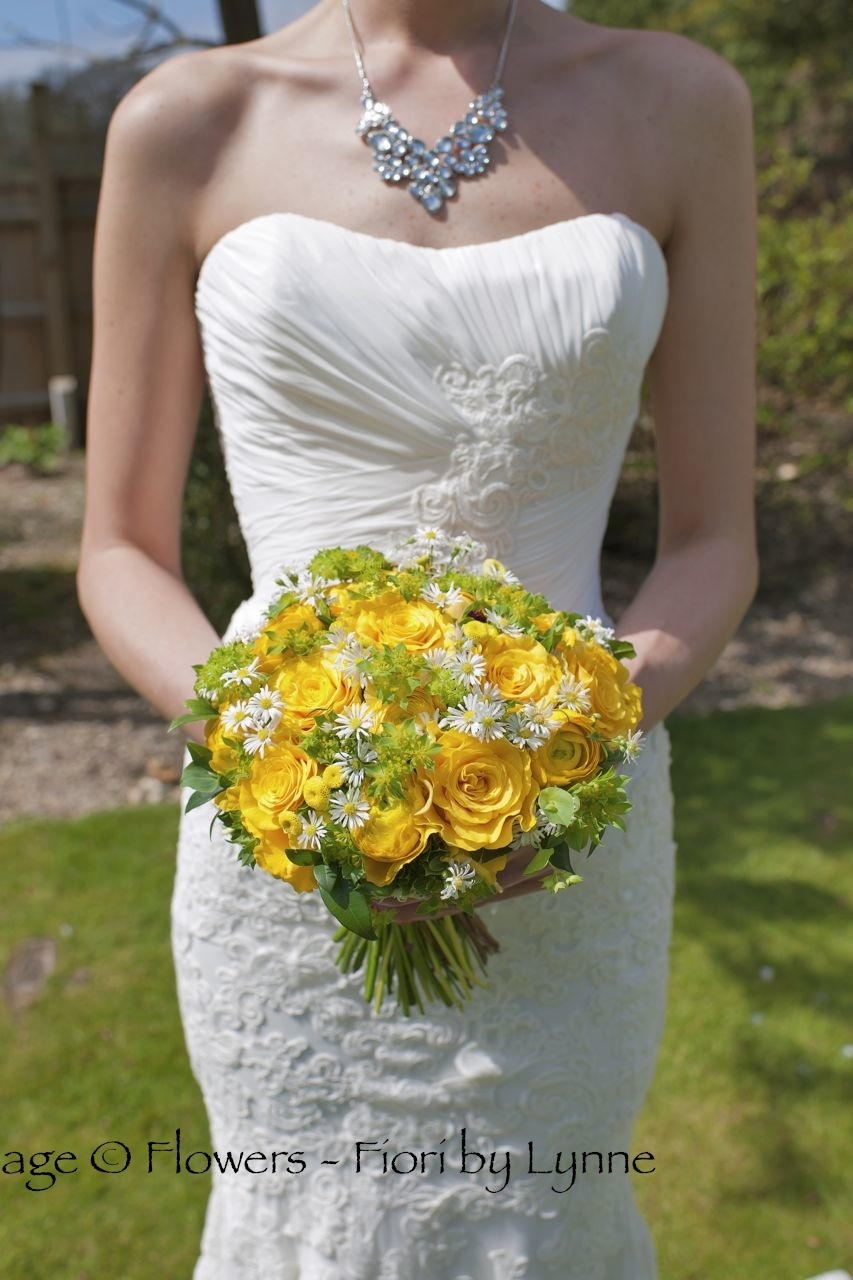 Colorful Johnny Mathis Yellow Roses On Her Gown Collection - Wedding ...
