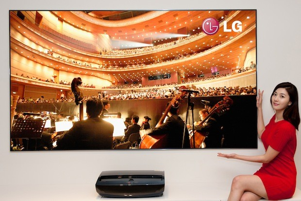 LG Hecto 100-inch Laser TV Projector