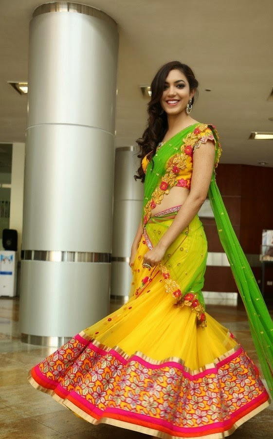 Ritu Varma In Mugdha Arts Half Saree