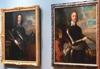 Cromwell and Hesilrig display @ NPG