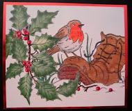 Fran's Christmas Robin