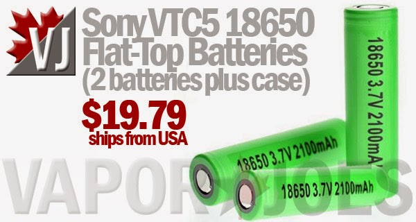 Sony VTC5 18650 Batteries - Safe Chemistry 30Amp