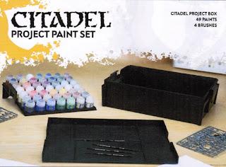 caja para proyectos y pinturas citadel