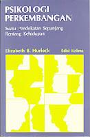 toko buku rahma: buku PSIKOLOGI PERKEMBANGAN, pengarang elizabeth b. hurlock, penerbit erlangga