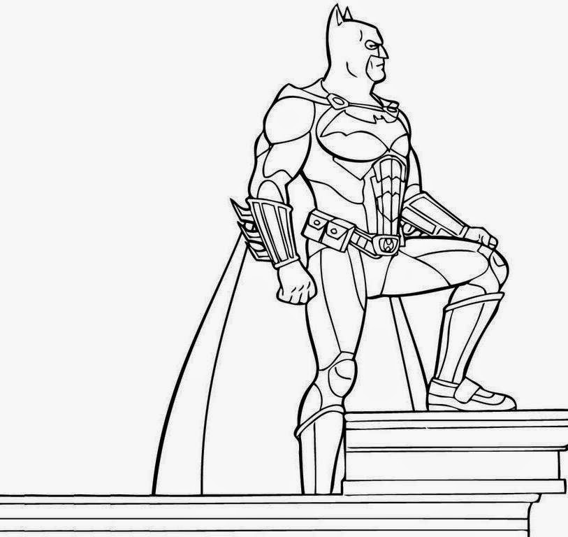 batman coloring pages online games - photo#5