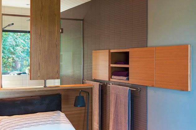 Desain Rumah Modern Minimalis di Area Miring