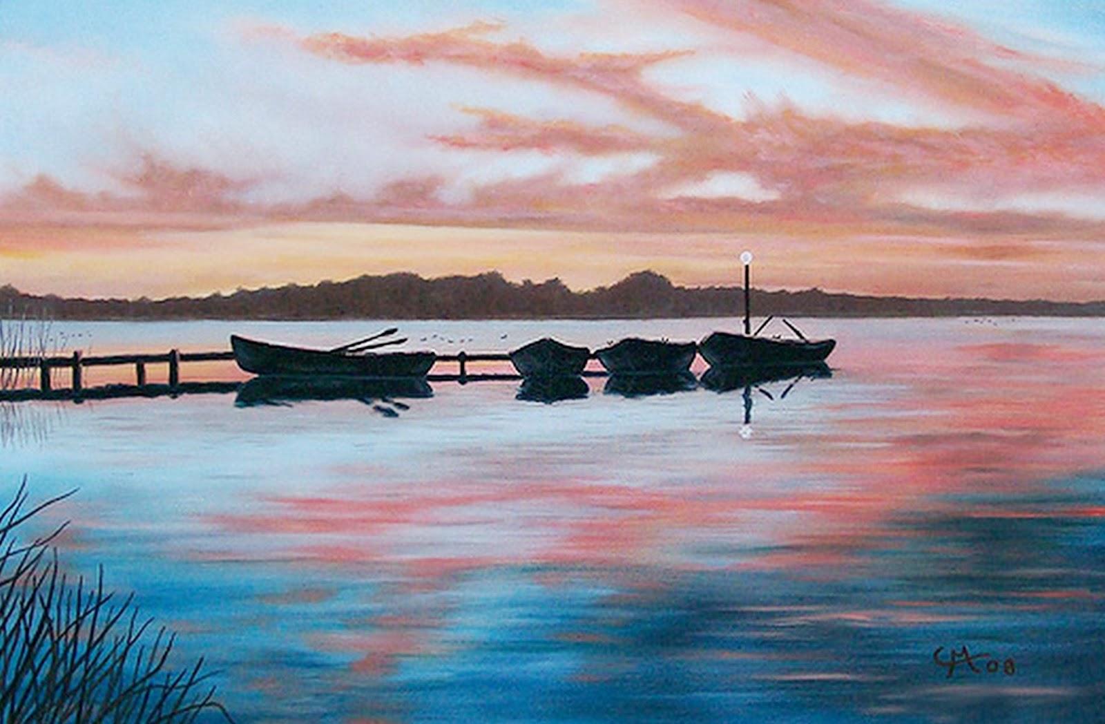 Pinturas Al Oleo De Marinas