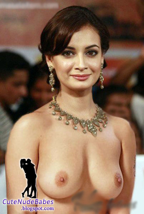 Diya Mirza Hot Boobs
