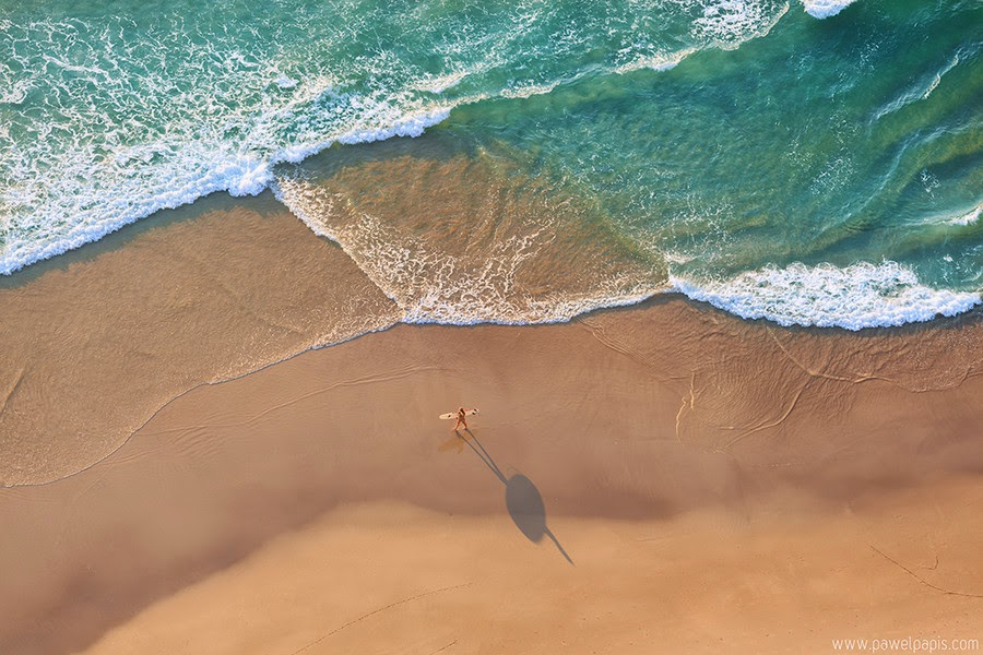 Lone Surfer By Pawel Papis