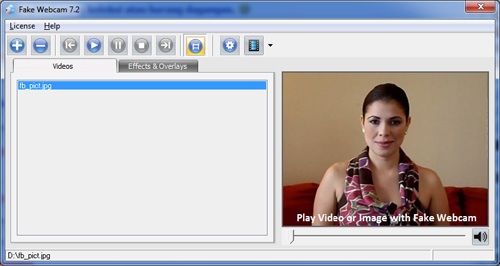 fake webcam 7.2 license key