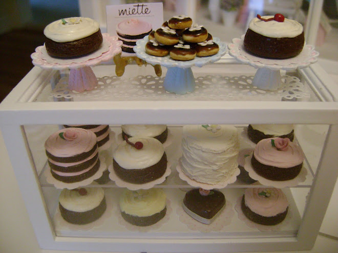 Miette Bakery Cake Display Case