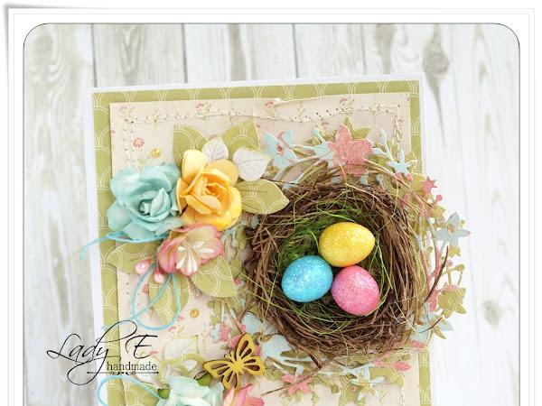 First Easter card :) / Pierwsza kartka Wielkanocna :)