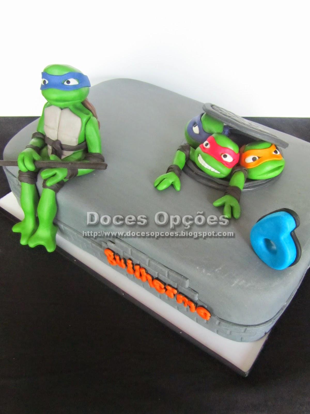 bolo tartarugas ninja sic k