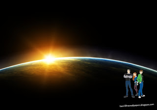 Ben 10 desktop Wallpapers Ben Ten Friends in Space Eclipse desktop wallpaper